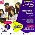 Program S1 Reguler