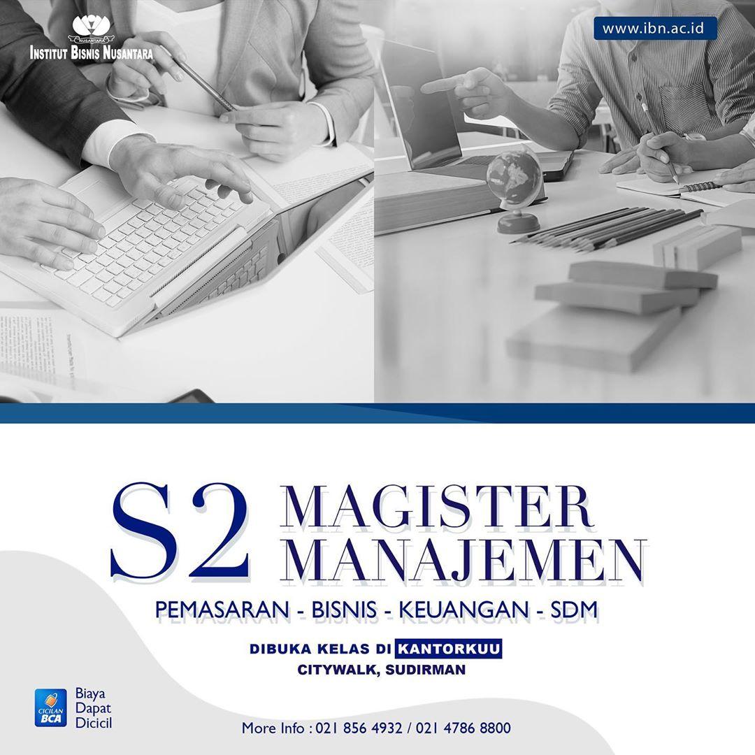 S2 Magister Manajemen