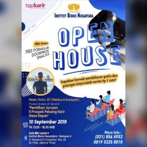 Open House Institut Bisnis Nusantara