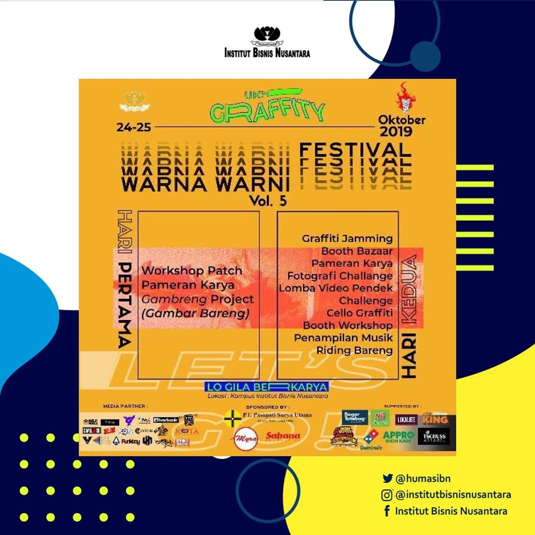You are currently viewing WARNA WARNI FESTIVAL Vol. 5