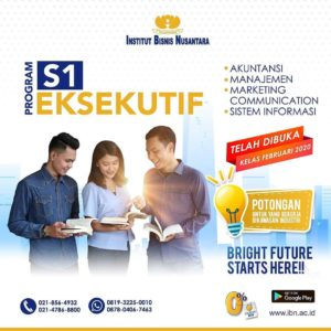 PROGRAM S1 EKSEKUTIF
