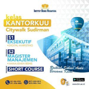 KELAS KANTORKUU CITYWALK SUDIRMAN