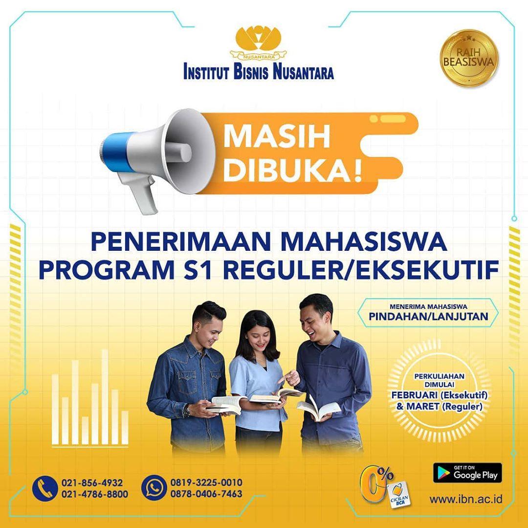 PENERIMAAN MAHASISWA BARU PROGRAM S1