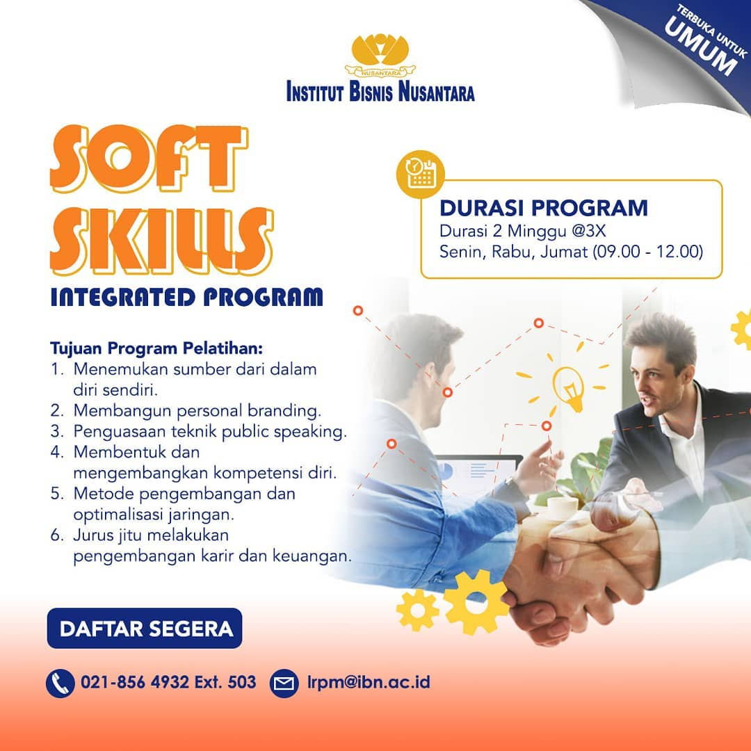 SOFT SKILLS INTEGRATED PROGRAM