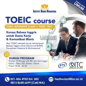 Read more about the article TOIEC COURSE