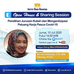 OPEN HOUSE & SHARING SESSION