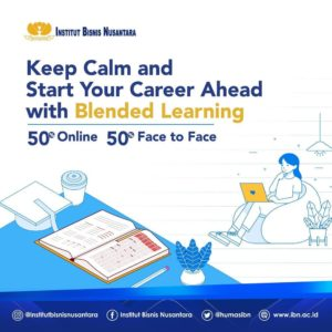 KEEP CALM AND START YOUR CAREER AHEAD WITH BLENDED LEARNING