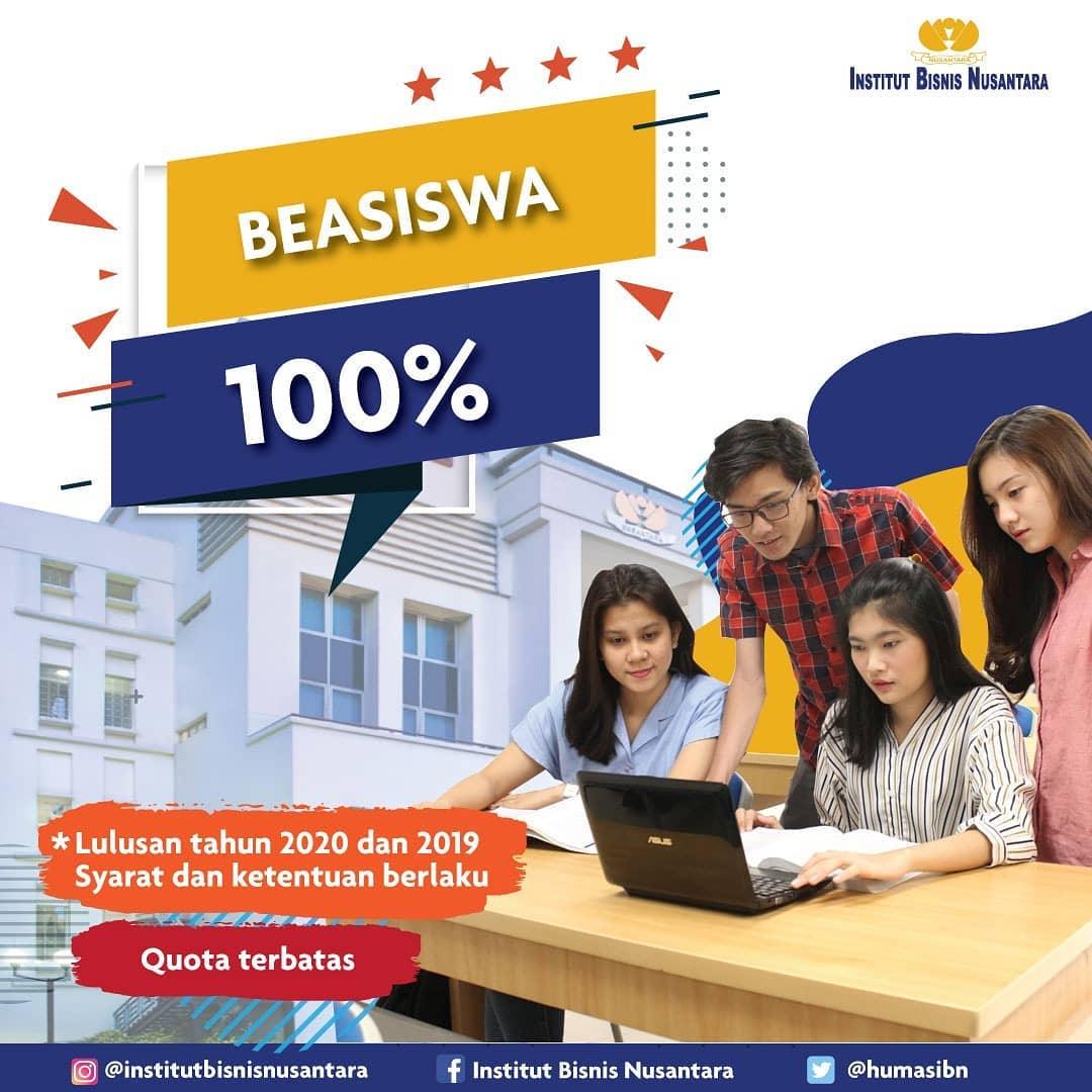 BEASISWA 100%