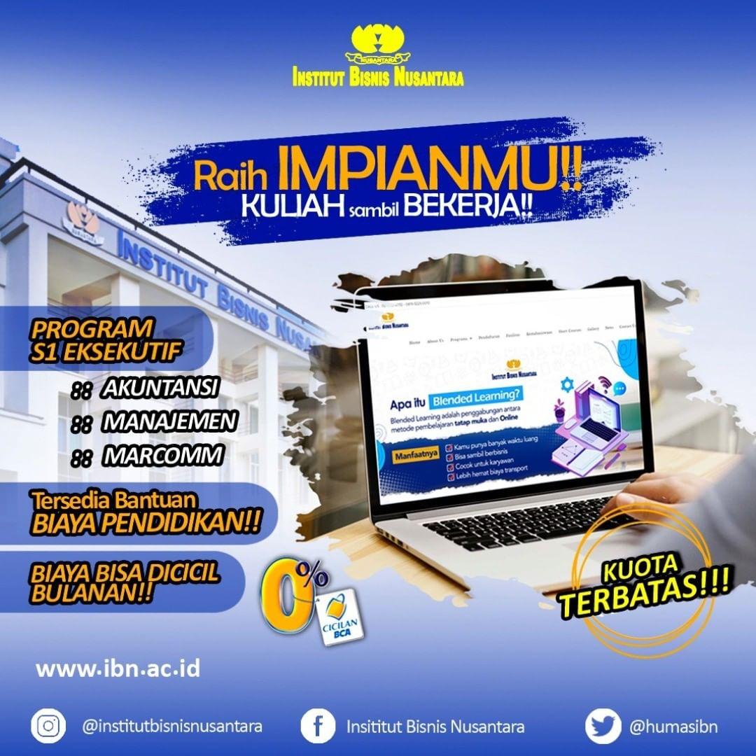 RAIH IMPIANMU, KULIAH SAMBIL BEKERJA!!
