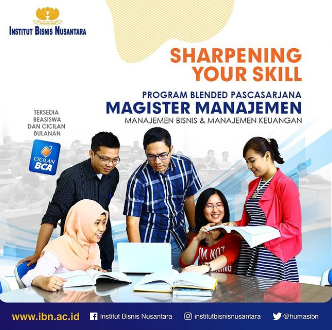 PROGRAM BLENDED LEARNING PASCASARJANA MAGISTER MANAJEMEN IBN