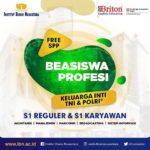 BEASISWA PROFESI UNTUK KELUARGA TNI/POLRI
