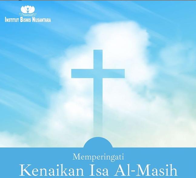 Read more about the article Selamat memperingati Kenaikan Isa Almasih 2021.