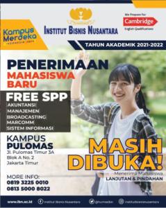 Read more about the article Masih Dibuka Penerimaan Mahasiswa Baru 2021/2022