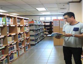 foto ruang perpustakaan